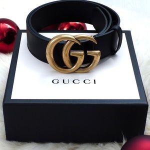 ëNew Gucci Belt Âùthéntíç Double G Marmot WITH BOX